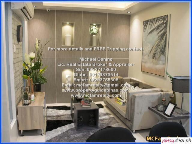 Affordable RFO 2 Bedroom Unit for Sale Near Trinity College and St. Lukes Hospital - Suntrust Asmara