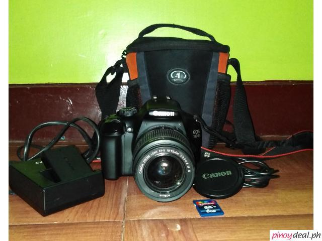 Sale! Canon EOS 1100D DSLR Camera
