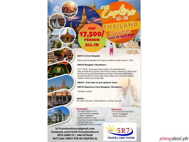 BANGKOK TOUR  2020 | ALL-IN