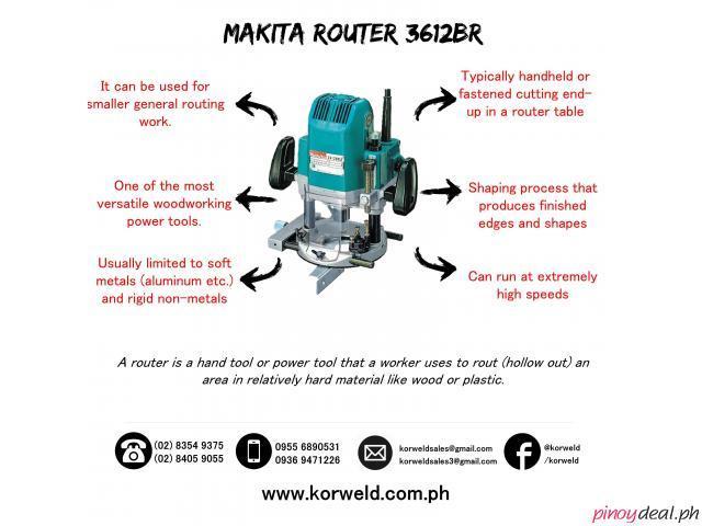 Makita Router 3612BR