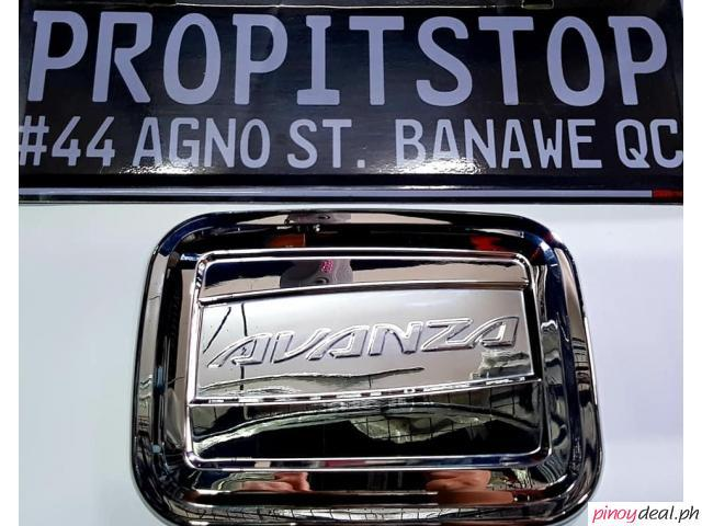GAS TANK COVER FOR TOYOTA AVANZA 2015-2019(CHROME)