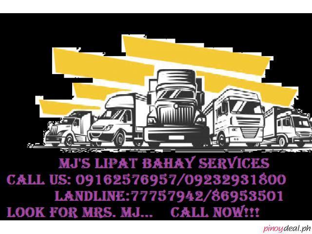 MJ'S LIPAT BAHAY SERVICES
