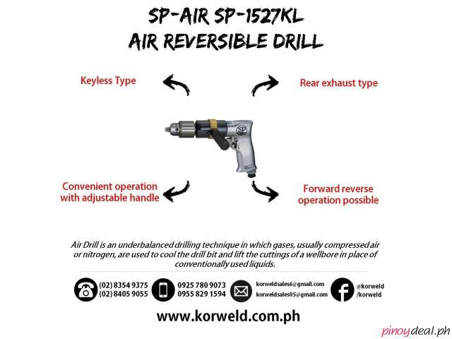 Air Reversible Drill SP-1527KL (Made in Japan)