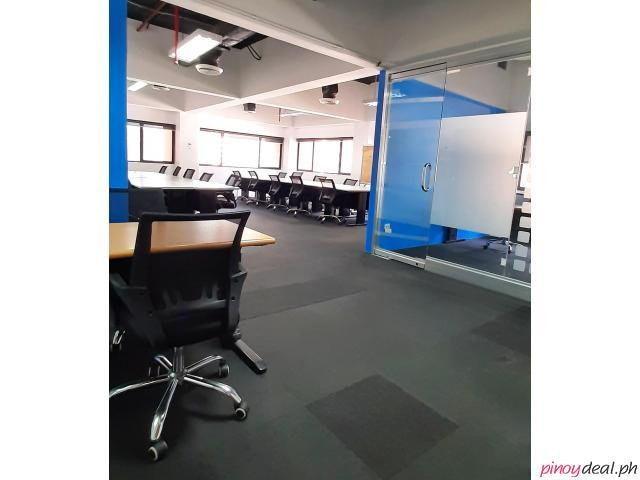 80-SQM Window Office for Rent in Makati PEZA Accredited Building