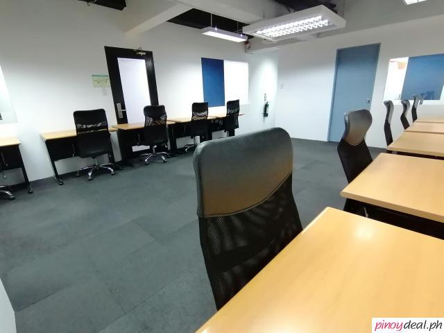 Fully-Furnished Office For Rent in Makati